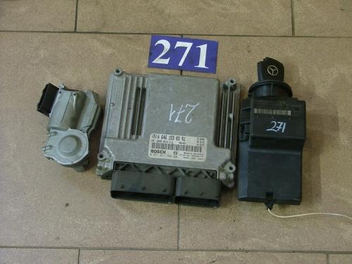 Calculator Motor cdi cu imobilizator+cheie A 6461530391, 0281011788