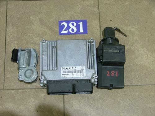 Calculator Motor cdi cu contact si imobilizator A6111535479,0281011181