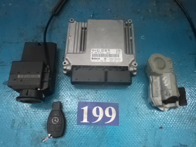 Contact pornire cu cheie + imobilizator + calculator motor A 6111535679