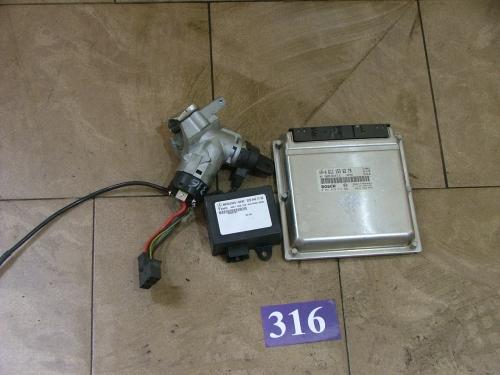 Set calculator motor A6111536279/0281010616/A0265451732