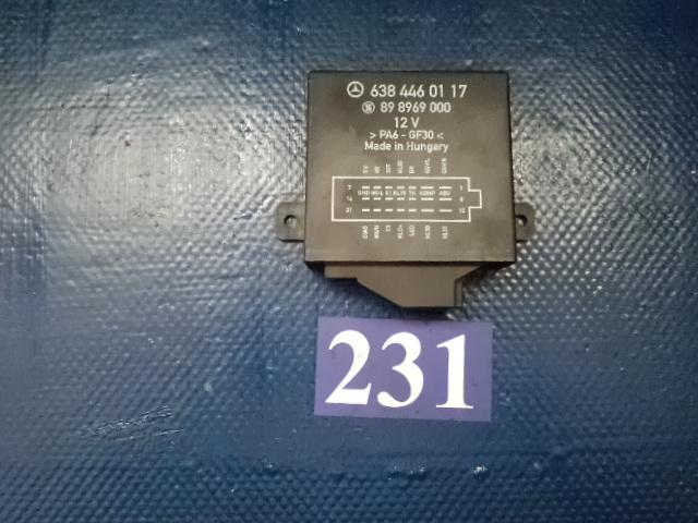 Unitate comanda suspensie pneumatica A6384460117