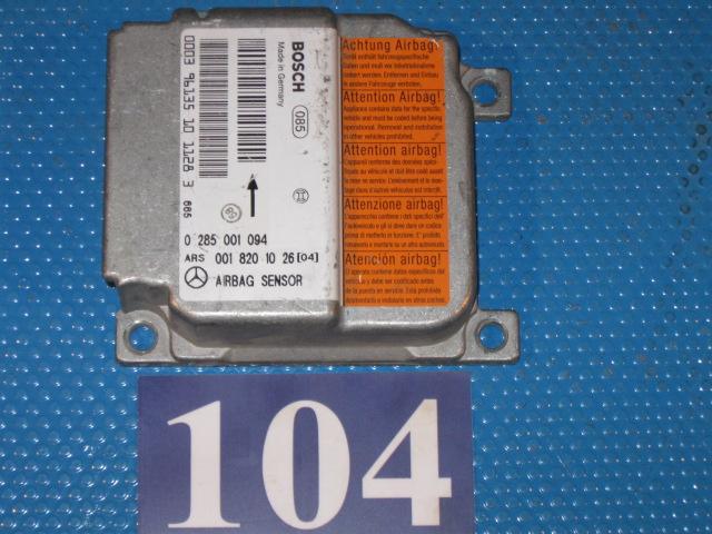 Modul declansator airbag A 0018201016