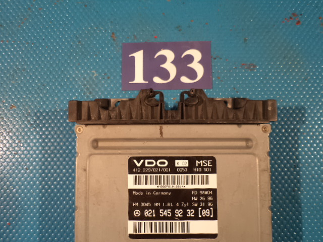 Calculator Motor benzina A 0215459232+imobilizator