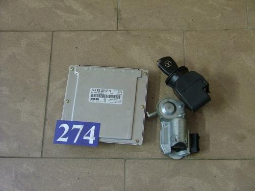 Calculator Motor cdi cu imobilizator+cheie A 6121531279, 0281010537