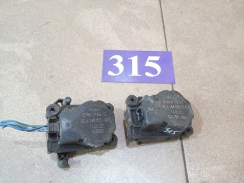 Motoras reglaj din ansamblu incalzire A1688204342/A1688204242