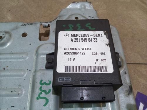 Unitate control suspensie A2515450432