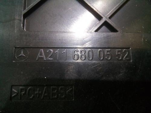 Consola sertar central - Comutator avarii A2116800552