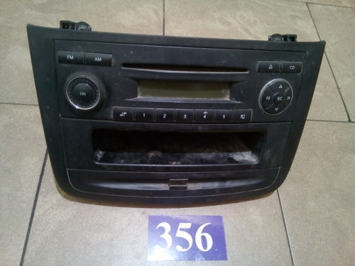 Radio-CD player